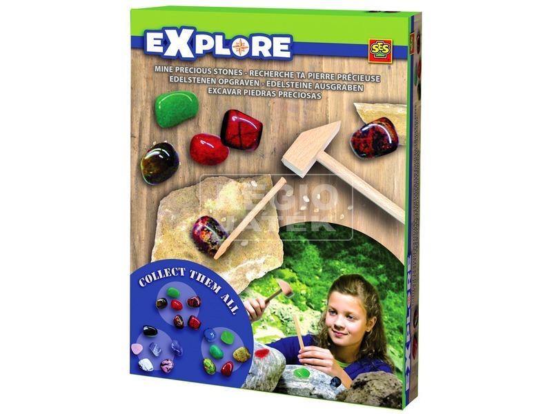Explore - Gyémánt bányász szett