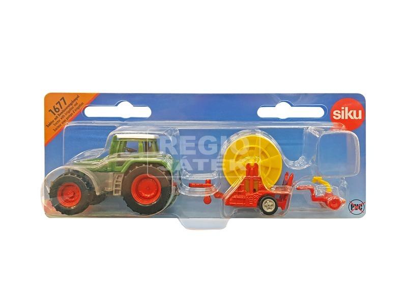 Siku: Fendt traktor kábelköteggel 1:87 - 1677