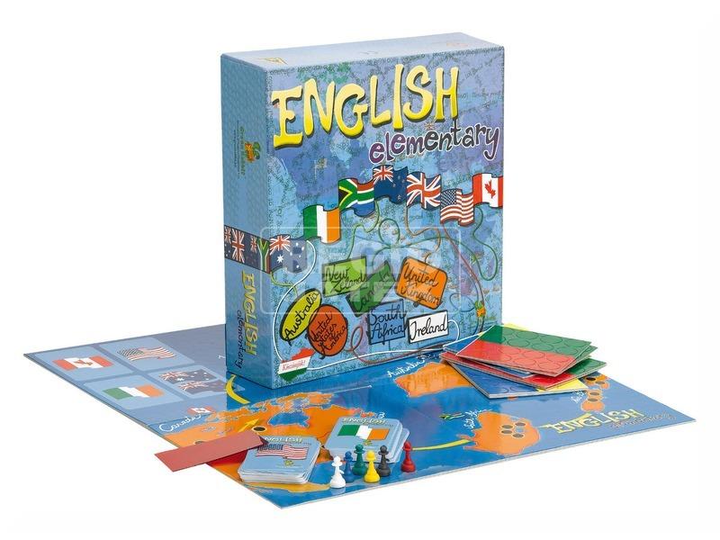 English Elementarty angol oktató társasjáték