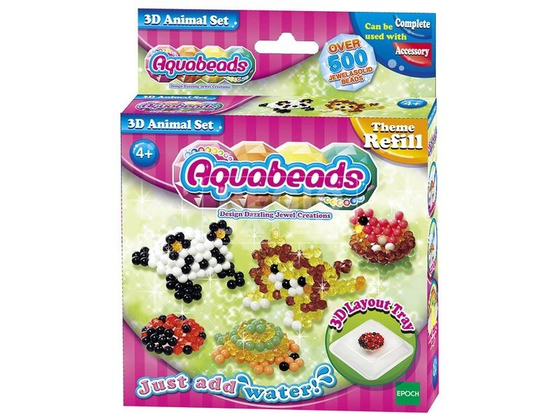 Aqua Beads 3D-s állatos szett