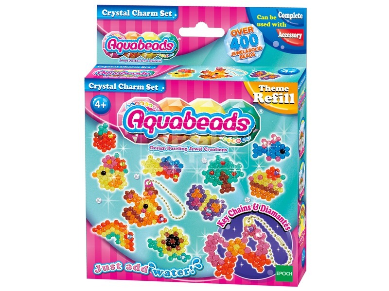 Aqua Beads csillogó medál készlet