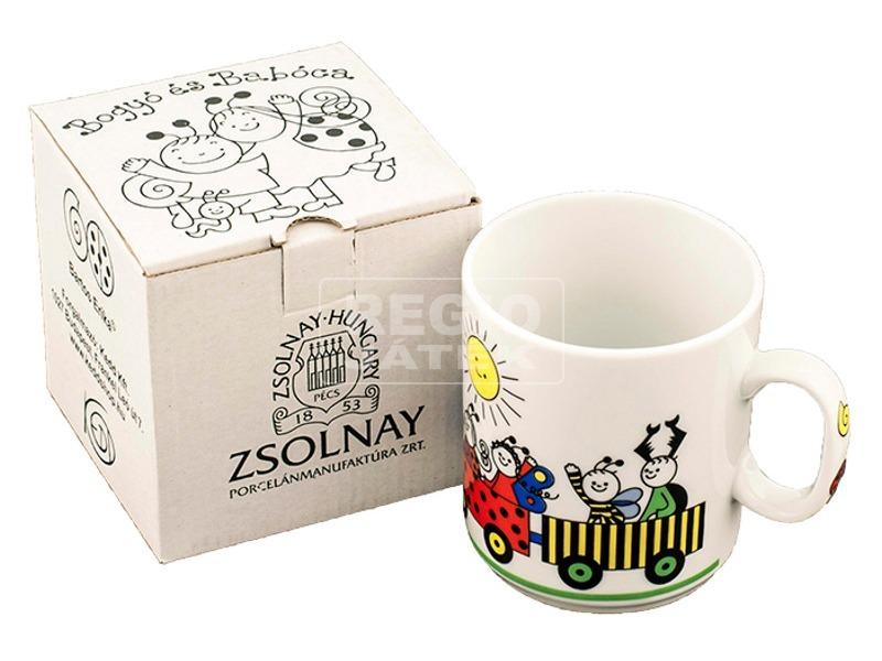 Bogyó és Babóca, Zsolnay porcelán bögre díszdoboz