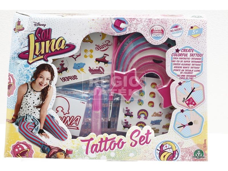 Soy Luna tetováló matrica készlet