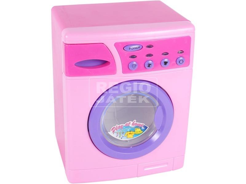 Elöltöltős mosógép - rózsaszín