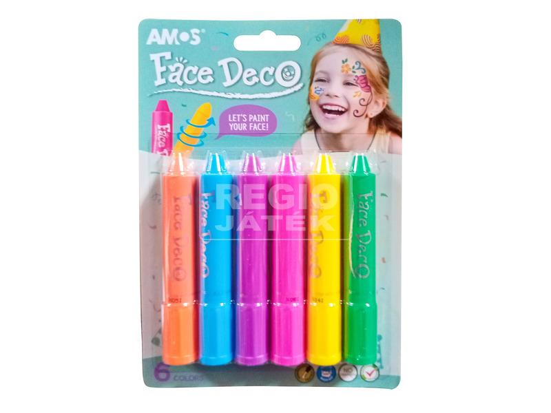Arcfestő toll 6 darabos készlet