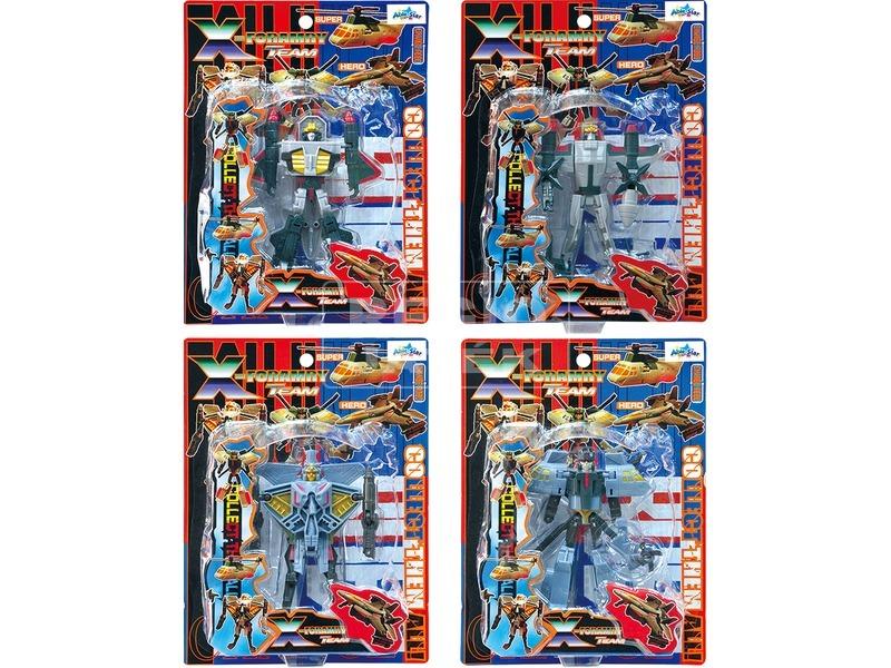 X-Forarmy átalakítható robot - 13 cm, többféle