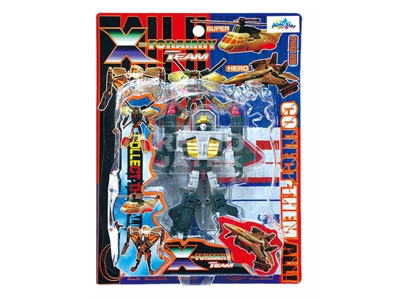 kép nagyítása X-Forarmy átalakítható robot - 13 cm, többféle
