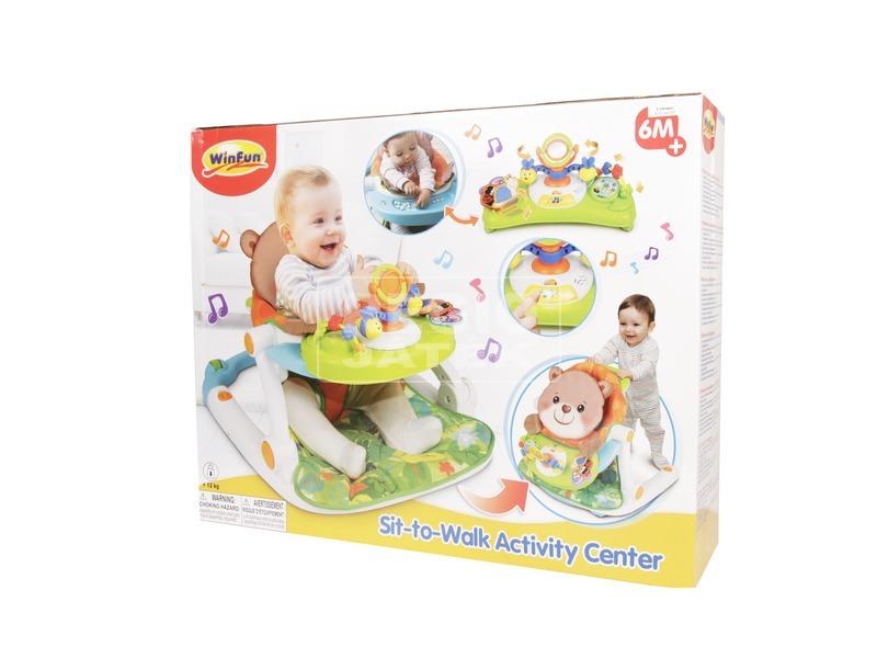2IN1 babasétáltató és kisszék