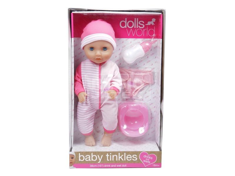 Baby Tinkles pisilő lány baba - 38 cm