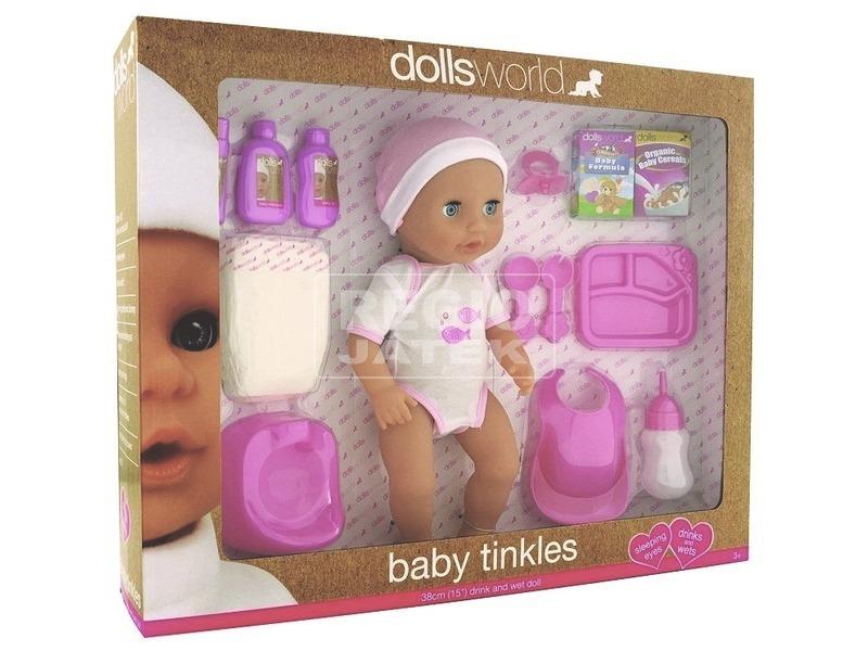 Baby Tinkles játékbaba kiegészítőkkel - 38 cm