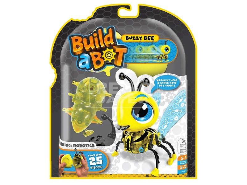 Build-A-Bot méhecske robotfigura építő készlet