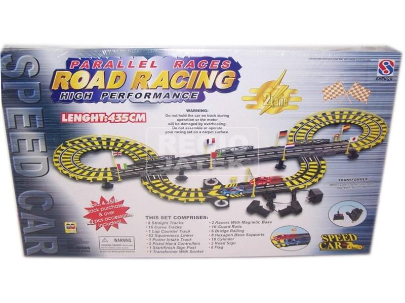Road Racing elektromos versenypálya - 435 cm