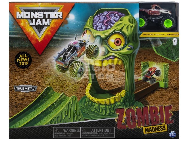 Monster Jam játékkészlet - 1:64, többféle