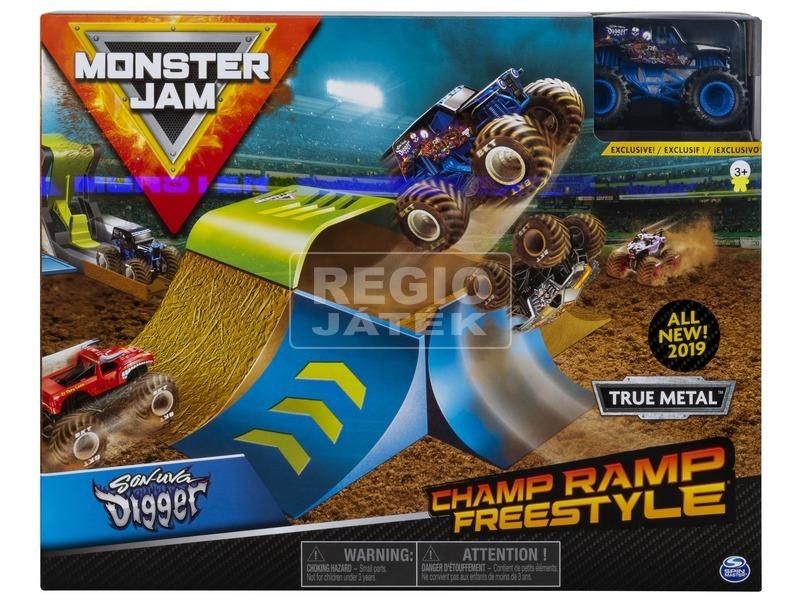 kép nagyítása Monster Jam 1:64 Jatékszett