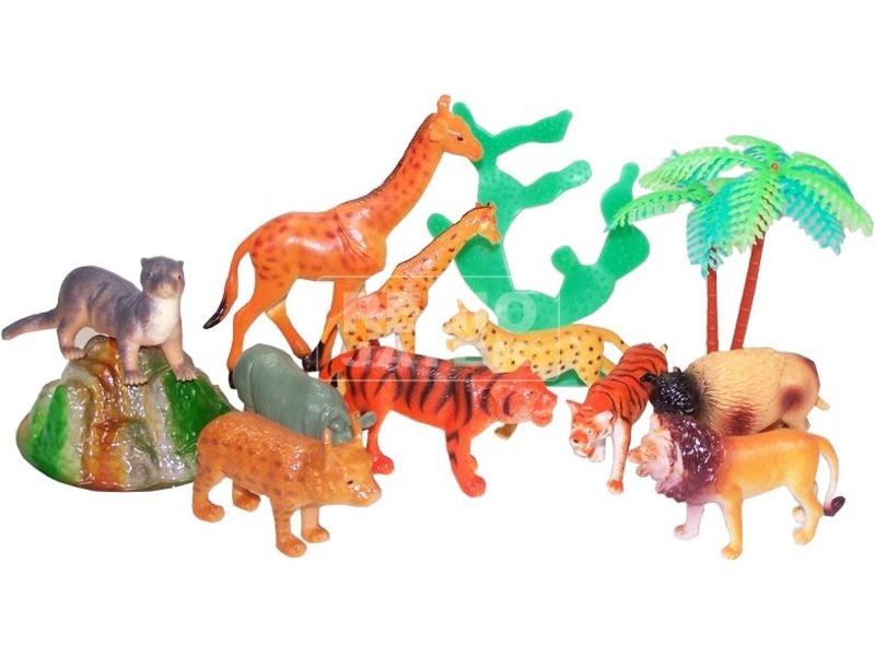 kép nagyítása A világ állatai állatfejes hengerben többféle