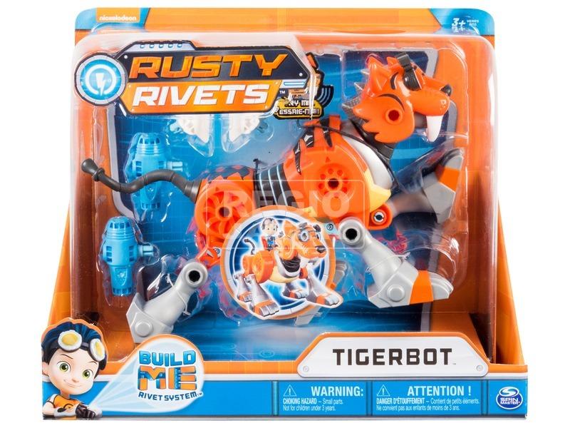 Rusty rendbehozza építhető robot tigris