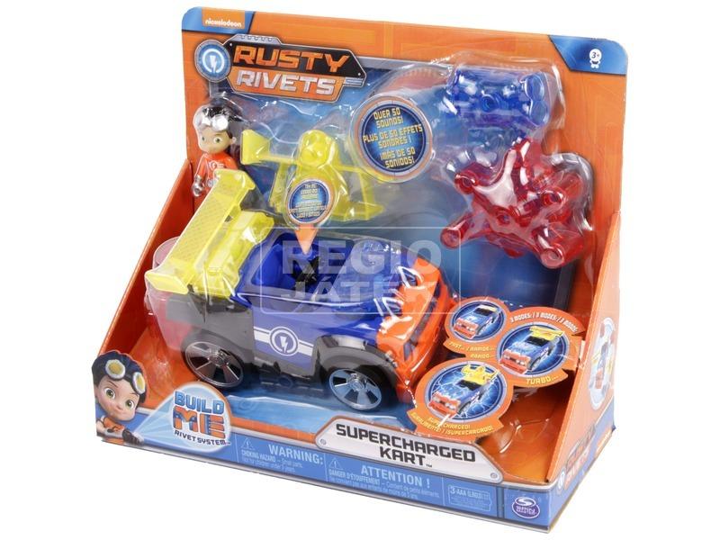 Rusty rendbehozza felhúzós autó - többféle