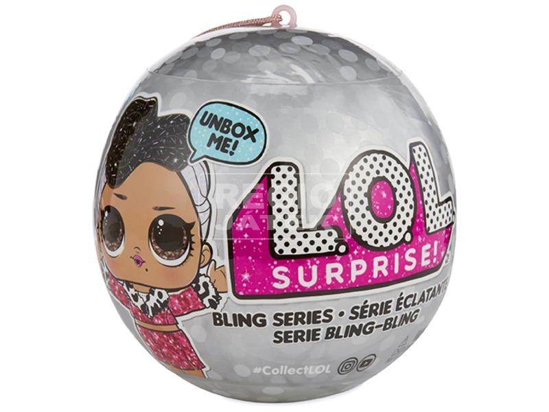 L. O. L Surprise ezüst baba