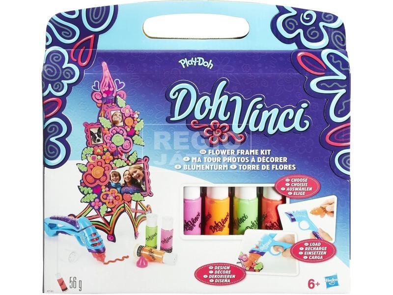 Play-Doh Doh Vinci virágtorony képkeret készlet