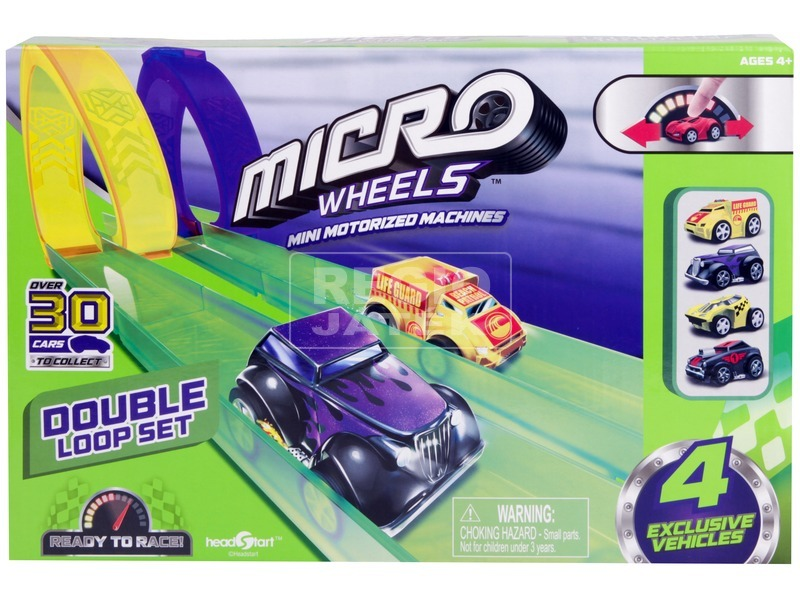 kép nagyítása Micro Wheels halálkanyar pályakészlet