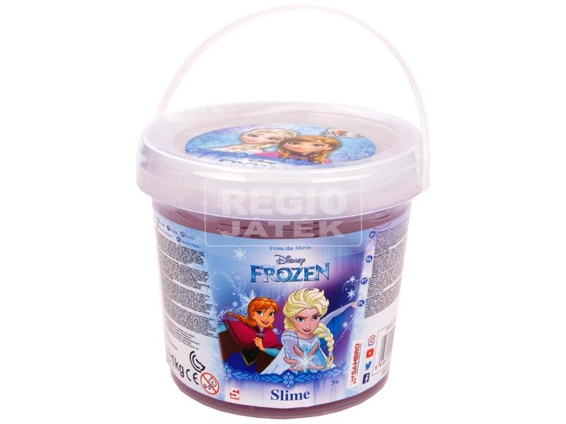 Jégvarázs slime vödörben - 1 kg