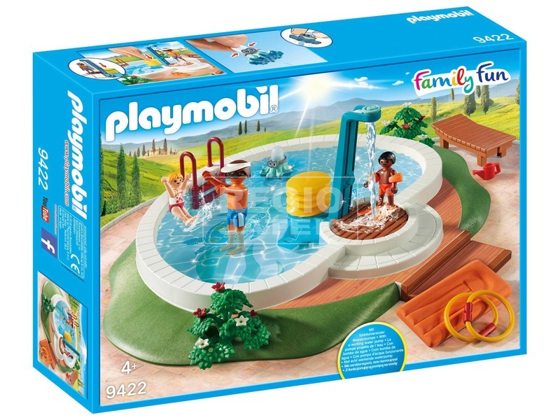 Playmobil Családi medence 9422