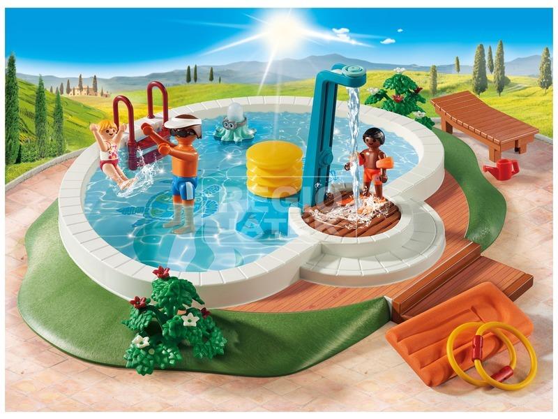 kép nagyítása Playmobil Családi medence 9422