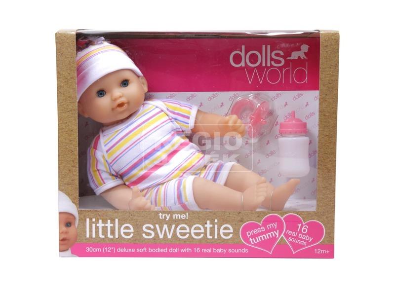 Little Sweetie interaktív baba - 30 cm