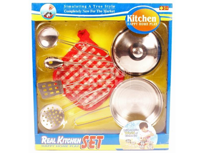 Fém 6 darabos konyhai edénykészlet