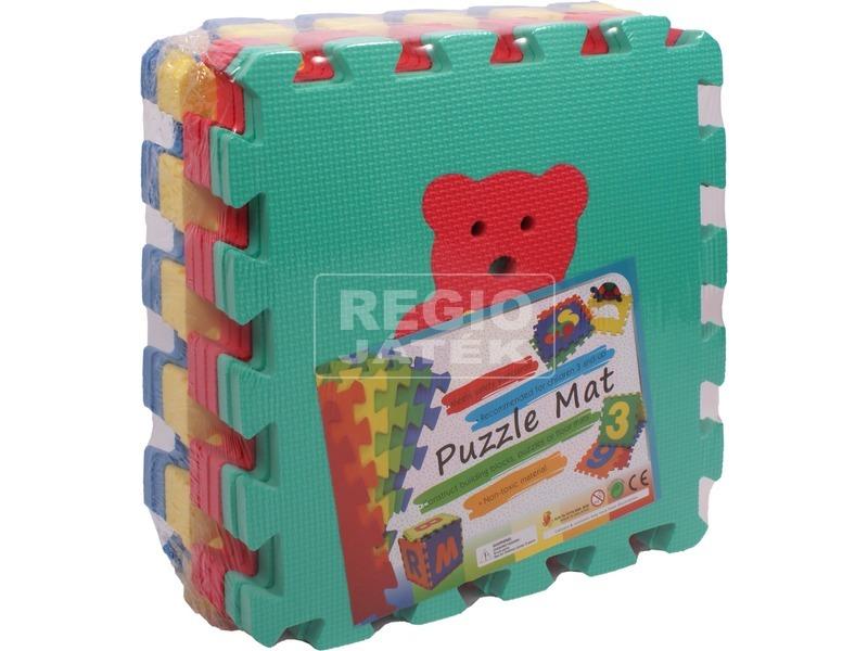Habszivacs 10 darabos szőnyeg puzzle állatokkal