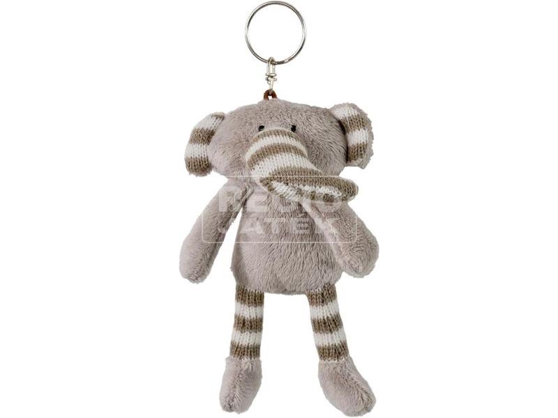 Lumpin elefánt kulcstartó plüssfigura - 12 cm