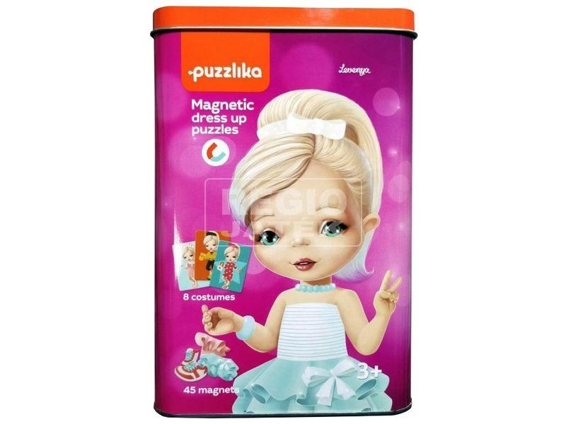 Mágneses babaöltöztető puzzle