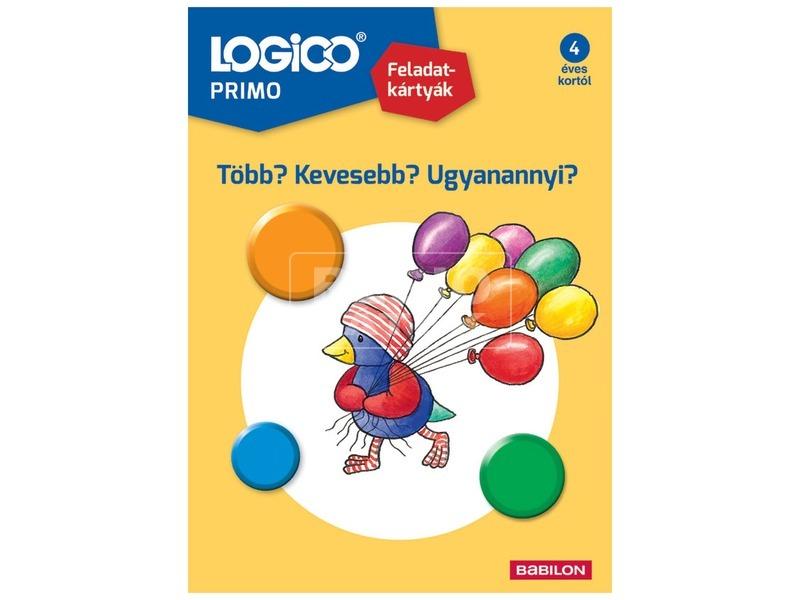 Logico Primo Több, kevesebb, ugyanannyi?