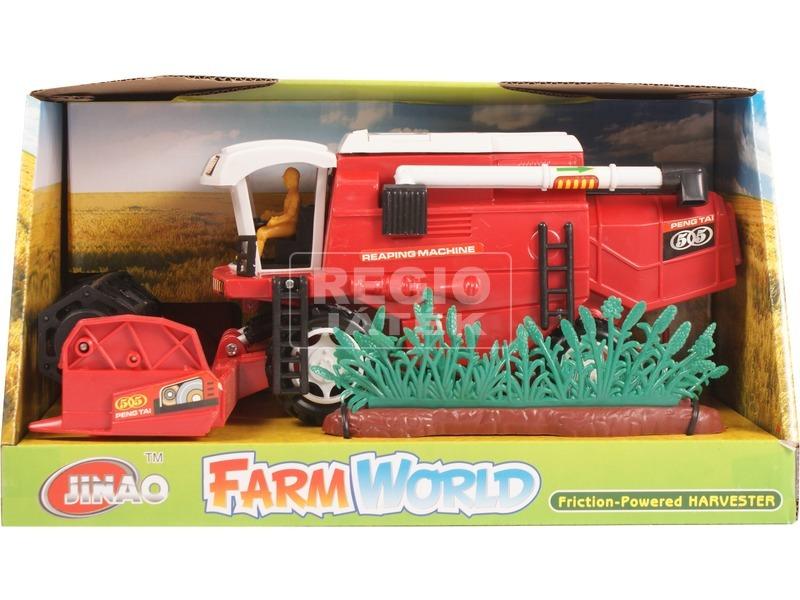 kép nagyítása Farm World műanyag kombájn - 28 cm, többféle