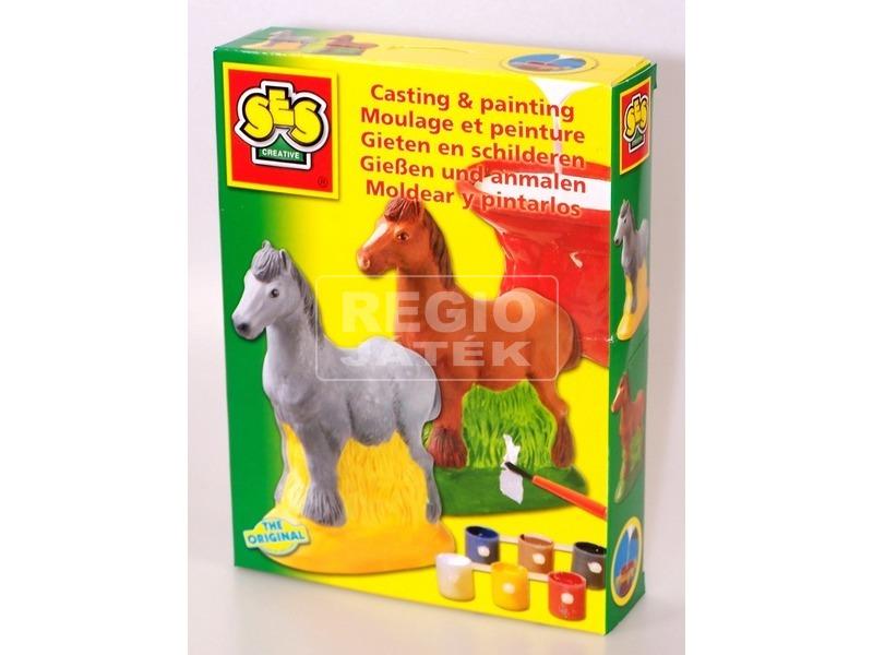 kép nagyítása SES lovacska 3D gipszkiöntő készlet