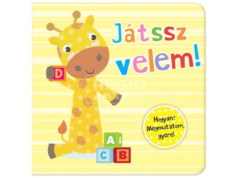 Kis zsiráf - Játssz velem! mesekönyv MV