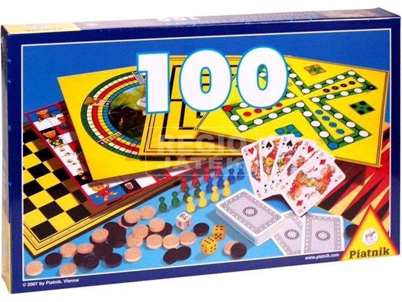 Játékgyűjtemény 100 társasjáték - új kiadás