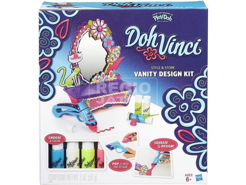 Play-Doh Doh Vinci tükör szépítő készlet