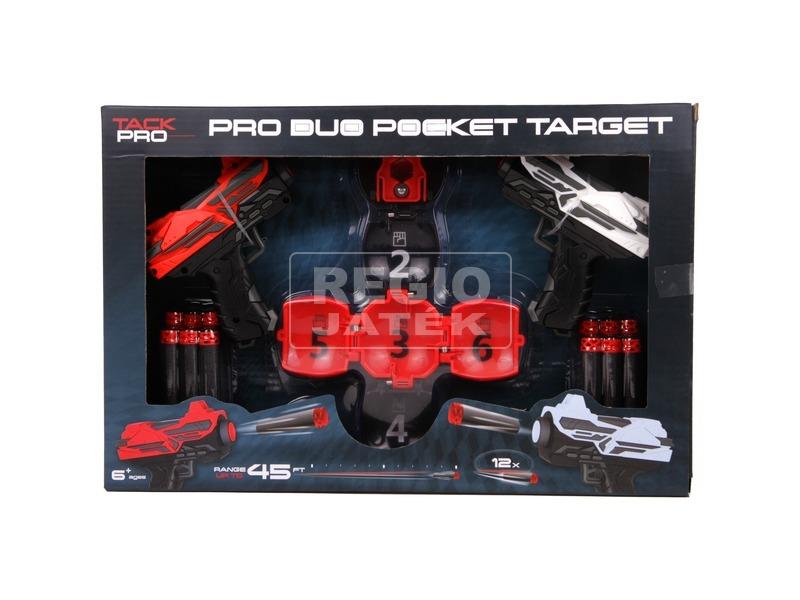 kép nagyítása Tack Pro szivacslövő pisztoly készlet célponttal