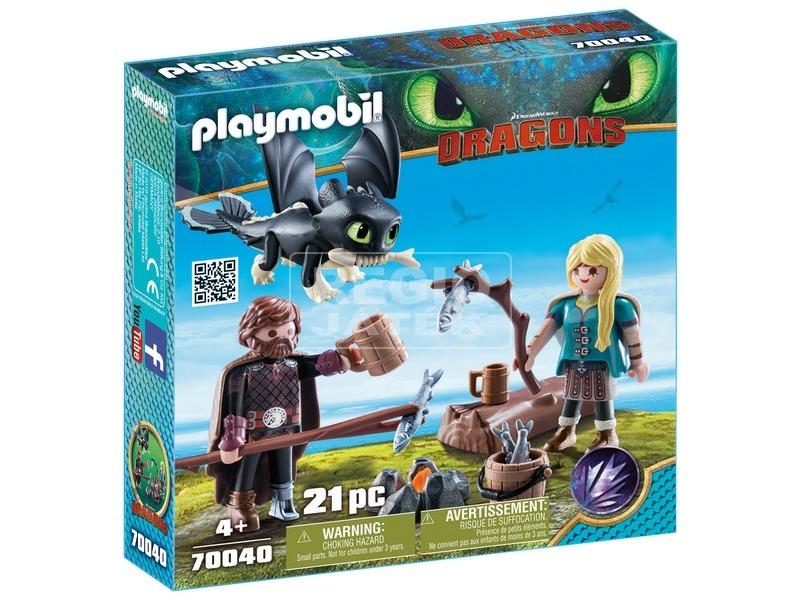 Playmobil Hablaty és Astrid 70040