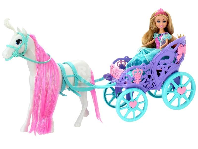 kép nagyítása Sparkle girlz - Királyi hintó babával