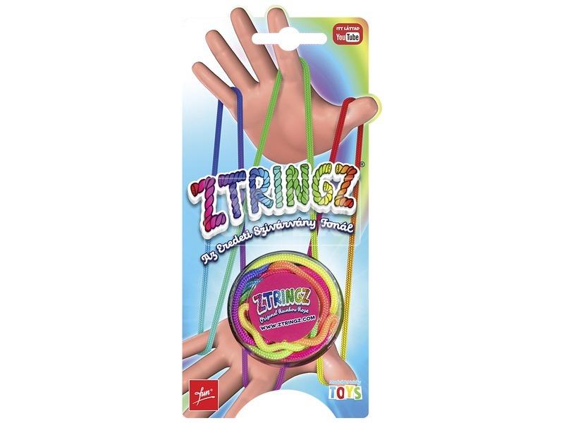 Ztringz eredeti szivárványfonál ügyességi játék