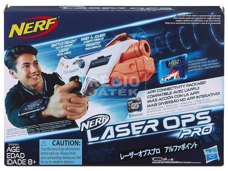 NERF Laser Ops Trial Driver fegyver