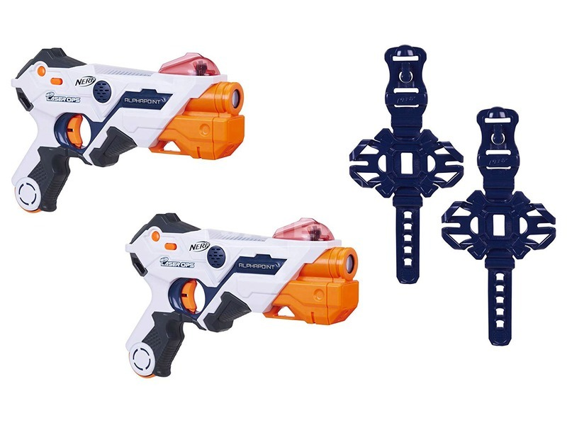 kép nagyítása NERF Laser Ops fegyver 2 darabos készlet