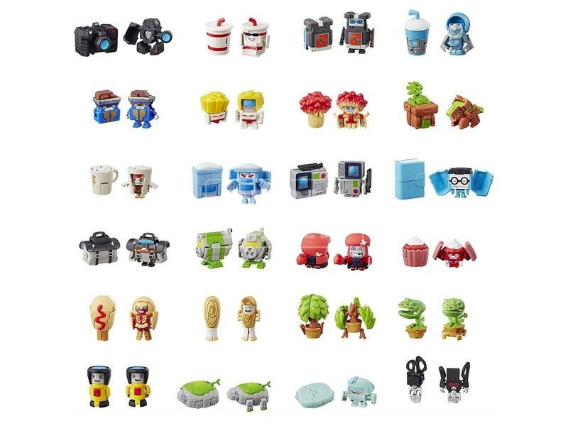kép nagyítása Transformers Botbots meglepetés figura - 3 cm