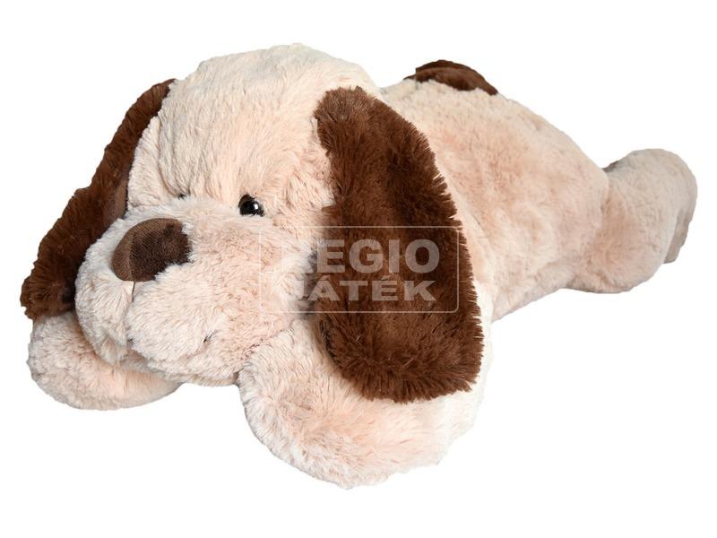Kutya fekvő plüssfigura - 90 cm, többféle