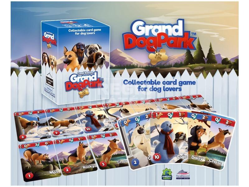 kép nagyítása Grand Dog Park kutyaimádó társasjáték