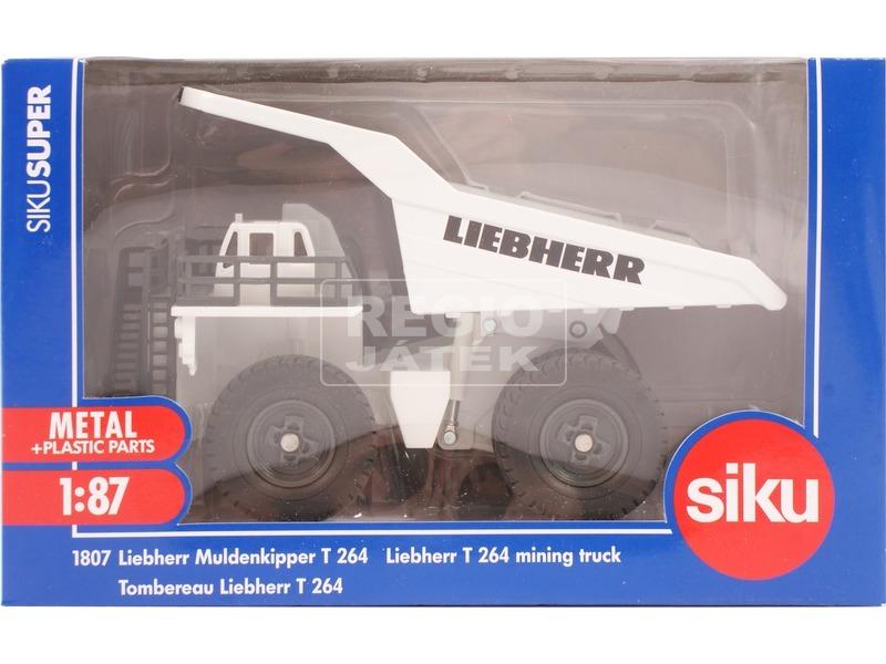 kép nagyítása Siku: Liebherr T264 bányadömper 1:87 - 1807