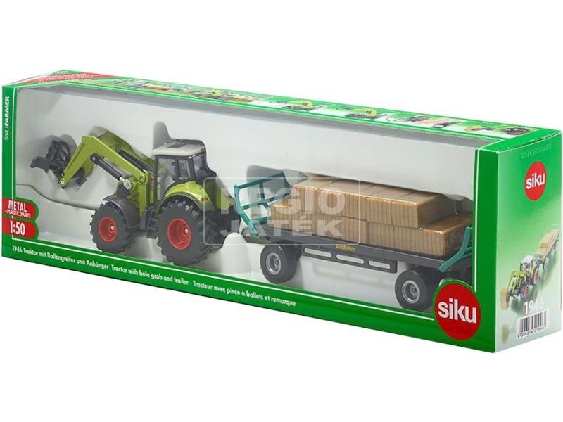 SIKU Claas traktor utánfutóval 1:50 - 1946