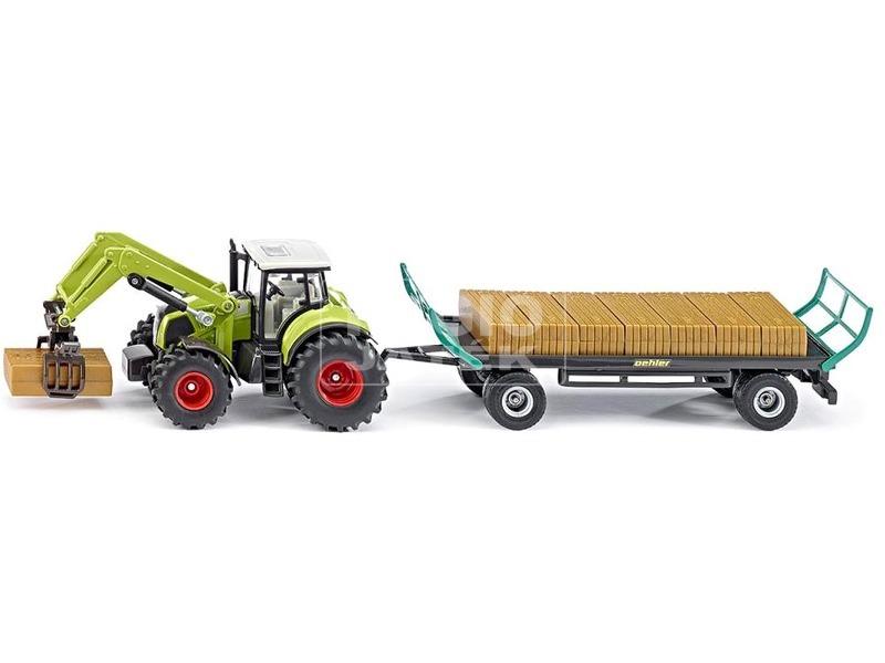 kép nagyítása Traktor trélerrel